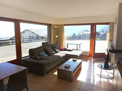 Photo for Apartment in the center of Nendaz with Lift, Internet, Washing machine, Terrace (42589)