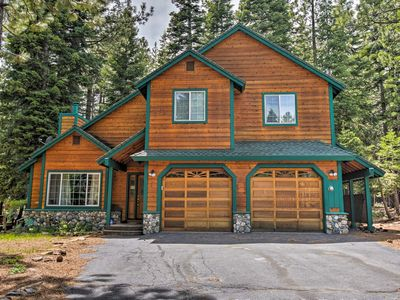 Photo for NEW! Chic Truckee Ski House w/ Game Room & Deck!