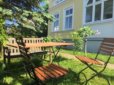 Photo for Cozy apartment with garden in the Baltic Sea resort of Göhren on Rügen 10 minutes walk to the beach