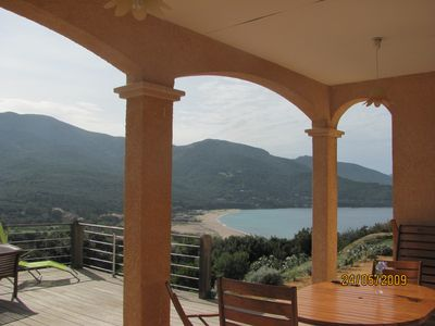 Photo for Villa with sea and mountains in the Gulf of Liscia
