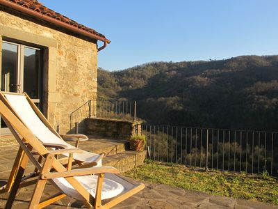 Photo for A Charming Family House In A Listed Heritage Medieval Village, North Tuscany
