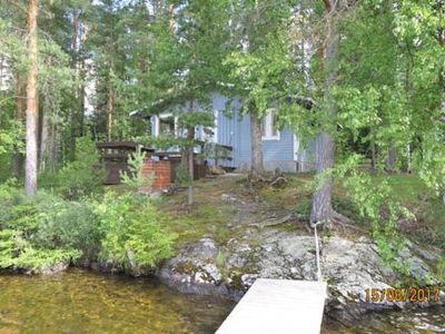 Photo for Vacation home Hukka 8 in Rantasalmi - 4 persons, 1 bedrooms