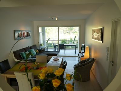 Photo for Spacious recent luxury apartment - 2 CH - 4 Pers - Clim -Proche beach Calvi
