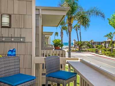 Photo for Ocean-view cottage, steps to the sand, clean and gorgeous remodel!