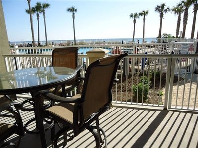 Photo for 3BR/2BA, SLP.9 GRAND PANAMA, 1ST FLR direct to POOL/BEACH, SMALL PETS WELCOMED!