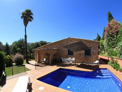 Photo for Club Villamar - Lovely villa with big private pool in Playa D'Aro
