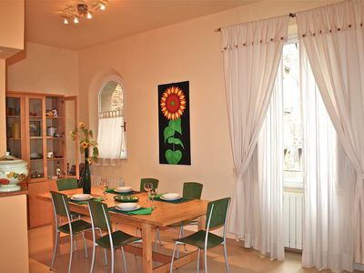 Photo for SAN DOMENICO HOUSE - Two Bedroom Apartment, Sleeps 5