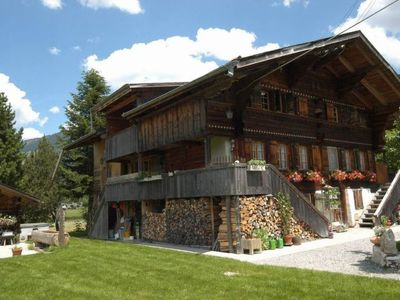 Photo for Apartment Trachsel-Huus in Lenk - 5 persons, 2 bedrooms