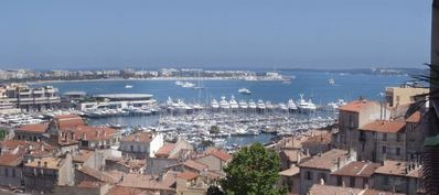 Photo for Exceptional view of the sea, Croisette and the Palace of the Festivals of Cannes