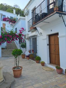 Photo for Spacious apartment with shared pool in traditional Spanish village VFT/MA/06793