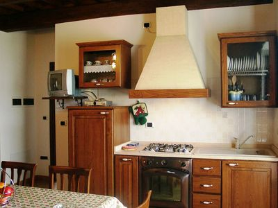 Photo for Comfortable apartment with swimming pool surrounded by nature near Rome
