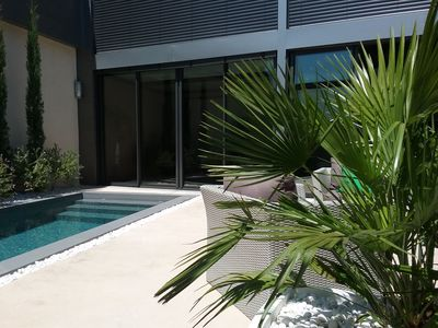 Photo for LOFT DES ROCAILLES LUXURY CONTEMPORARY WITH PRIVATE POOL 5 STAR *****