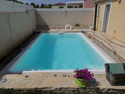 Photo for Villa with pool and garden on the coast of Herault
