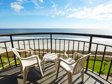 Gorgeous View: Oceanfront One Bedroom King Condo @Meridian Plaza #804