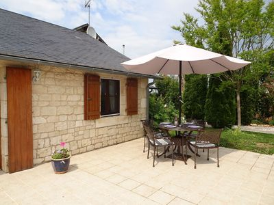Photo for House 1.3 km from the center of Saint-Georges-de-Noisné with Parking, Internet, Washing machine, Pool (93031)