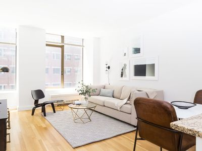 Photo for Sonder | Hanover Square | Simple 1BR + Rooftop