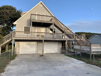 Photo for Quiet and quaint beach home with easy walking access to the ocean and sound side