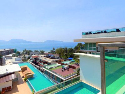 Photo for 3 bedroom sea view apartment Patong