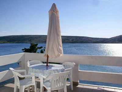 Photo for One bedroom apartment near beach Stara Novalja (Pag)