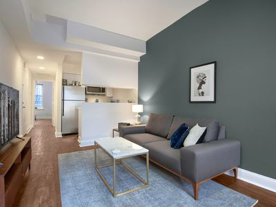 Photo for Central Dupont Circle 1BR near metro & GW, by Blueground