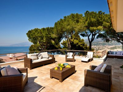 Photo for Villa Massi with pool overlooking the Sorrento Peninsula