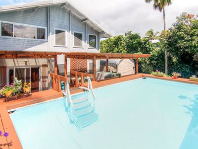 Photo for Bright Pahoa Family Apt w/Shared Pool, Bar & Patio