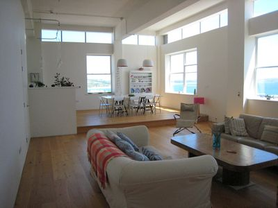 Photo for Modern Seaside Loft, Great Sea Views