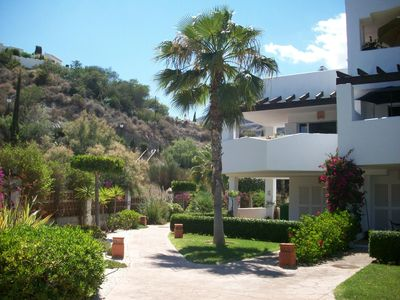 Photo for Apartment with pool located on the 1st floor at 300 meters from the beach