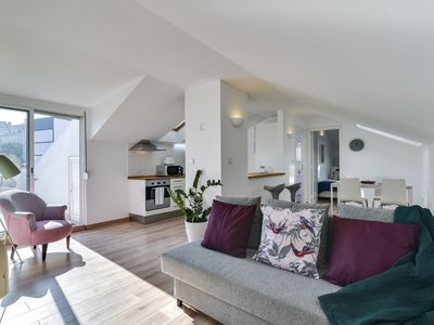 Photo for Terraced apartment in Lisbon's busy city centre