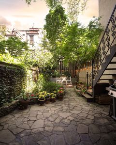Photo for Upper West Side townhouse with lovely garden on a quiet tree-lined street.