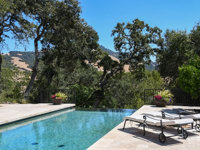 Photo for Bennett Valley Estate - Infinity Pool, Hot Tub, Views, Close to town