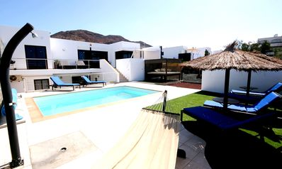 Photo for Luxury Villa with Private Heated pool, FREE WiFi, air conditioning, pool heating