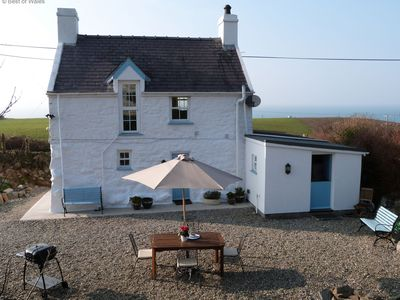 Photo for Detached, Sea View Cottage - Walking Distance to Nefyn Beach, Restaurants etc
