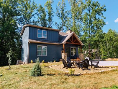 Photo for NEW-Oakley's Mountain Modern Lodge - Luxury Family Craftsman Cabin w/ 6 bunks