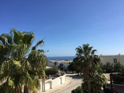 Photo for Lovely one bedroom apartment with pool by Porto de Mós beach - GC / PM