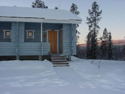 Photo for Vacation home Lähikaltio 316 in Äkäslompolo - 4 persons, 1 bedrooms