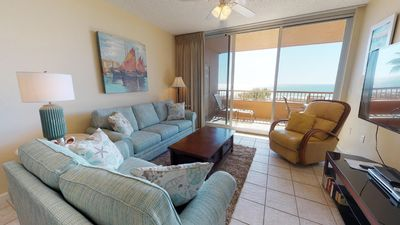 Photo for Enjoy this Charming  2-Bedroom With Relaxing Views Of The Serene Gulf! Doral 307