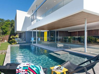 Photo for Stepping into this newly built gorgeous beach house at Sunrise Beach immediately takes off layers of