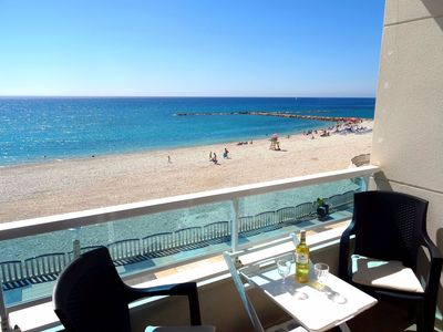 Photo for Fabulous first line 3 bedroom apartment Altea beach