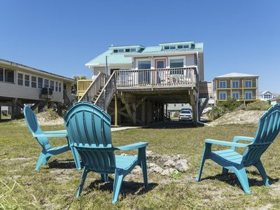 Photo for C Turtle - Pet Friendly Oceanfront Home on East Beach