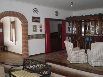Photo for LARGE FRONT HOUSE FOR DAM, WITH CINEMA, TENNIS COURT, VOLEY