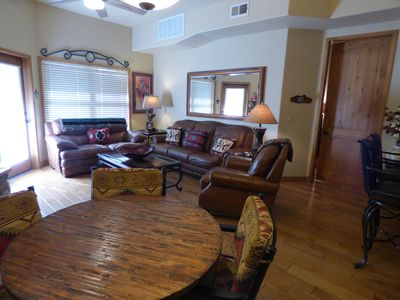 Photo for Luxury 3 Bedroom, 3 Bath Condo with Lovely Garden Views