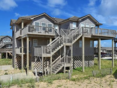 Photo for Sunrise Cottage- Excellent Ocean Views- Steps to Beach- Community Pool