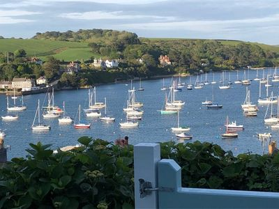 Photo for 18th Cent cottage with outstanding views of the Fal Estuary & Roseland peninsula