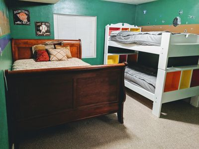 Photo for Spacious Basement Home for Leisure or Business