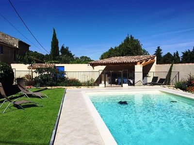 Photo for Mas in the heart of the alpilles between saint remy and the leases of provence