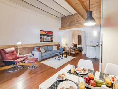 Photo for Urban Loft Diagonal - Studio Apartment, Sleeps 4