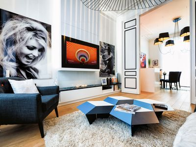 Photo for Spacious Two Bedrooms Duplex with Private Terrace - Quartier Louise