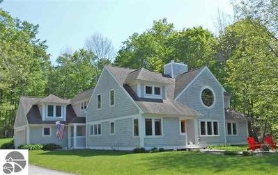 Photo for Private, Quite, Waterfront Home with 114 feet of Beach on Suttons Bay