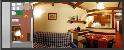 Photo for Colle Sestriere: Apartment in Residence with Hotel service